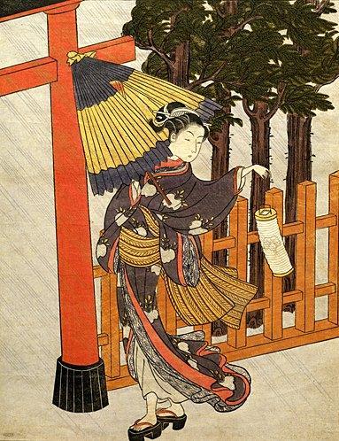 Японская гравюра 9618235