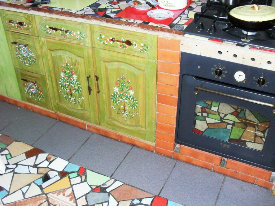 Декор кухонного шкафа своими руками 768