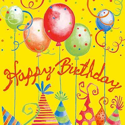 Поздравляем с днем рождения девочек с 15