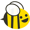 Пчёлка в коконе