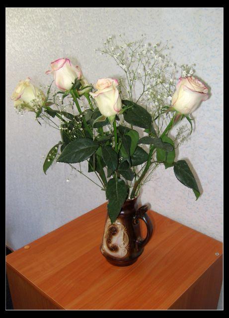 Как сделать чтоб розы простояли долго в вазе