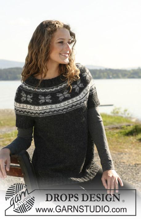 Молодые свитера с норвежским рисунком нежно поцеловала.