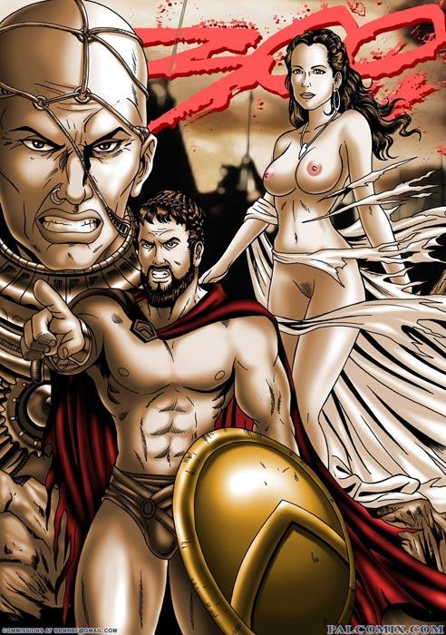 порно пародия спартанцы
