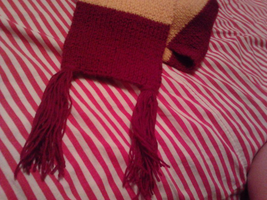 Что ж, слизеринским шарфом