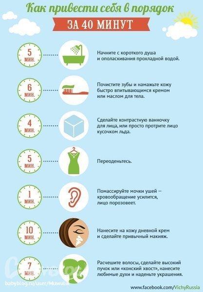 Как быстро привести лицо в порядок в домашних условиях