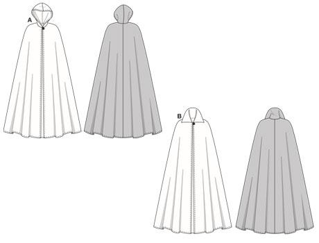 свадебная накидка выкройка бурда - Выкройки одежды для детей и взрослых.