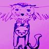 Кот мятый, мнимый