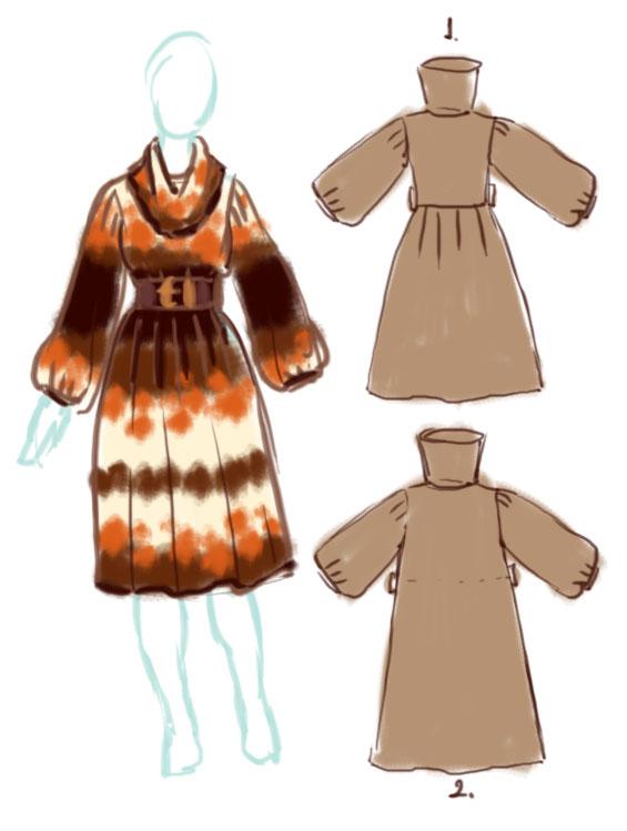 Платья из трикотажа: стильно .  Как сшить платье своими руками? .