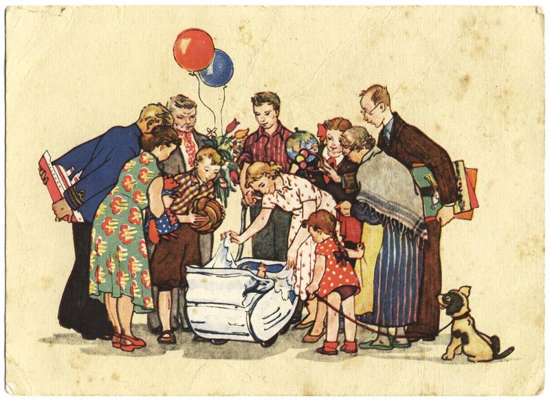 Открытка для бабушки раскраска с днем рождения