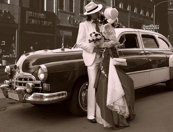 Ретро свадьба в стиле 20-х. - костюмы и платья.