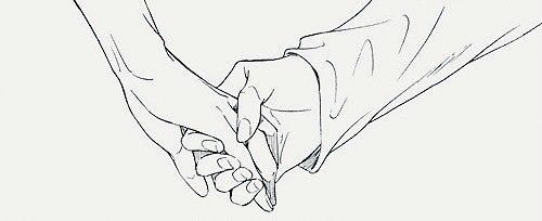 рисунок держи меня за руку