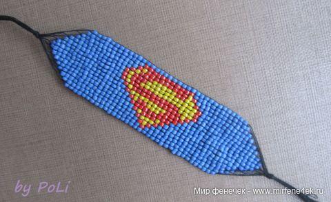 Фенечки схема супермен