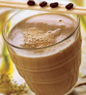 2 порции) 1 стакан холодного кофе 1 ч. л. сахара 2...