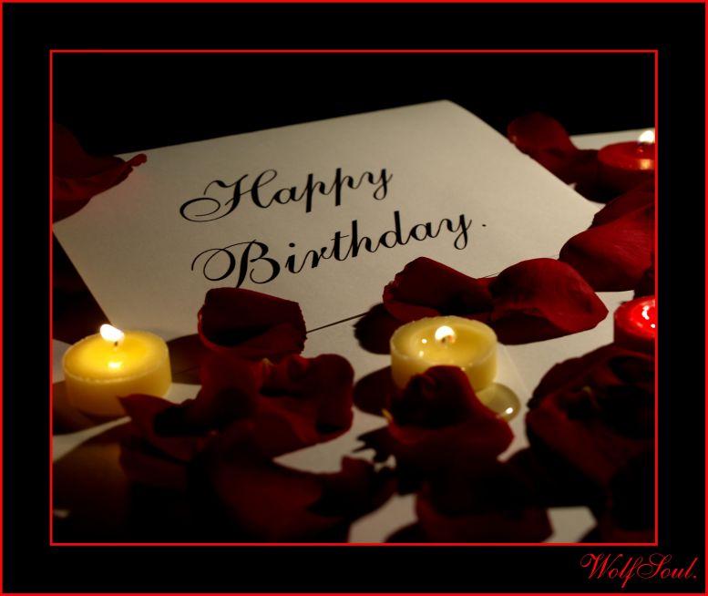 Романтичные поздравления с днем рождения мужчине в картинках