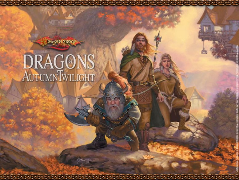 dragons of autumn twilight essay