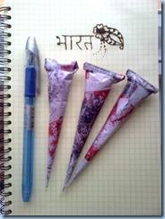 Вот что получилось! Я попробовала консистенцию, написав Bharat (Индия) и нарисовав цветок))