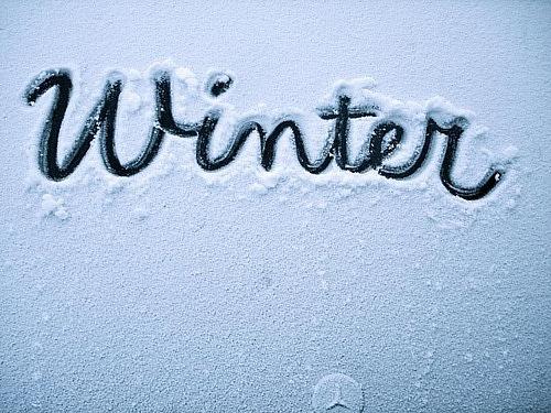 Winter.  Да с поздравлением что зима наступила я запоздала,немного) но...
