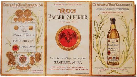 Факундо Бакарди (Bacardi) - создатель всемирно известного рома.