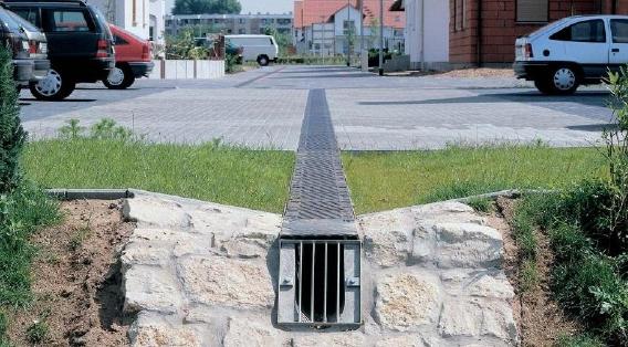 водных потоков воды по дренажным желобам и каналам, после чего выводится из осушаемой местности.  Каким бы ровным ни...