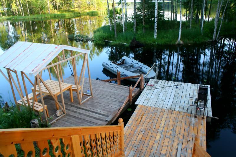 гостевые дома рыбалка карелия
