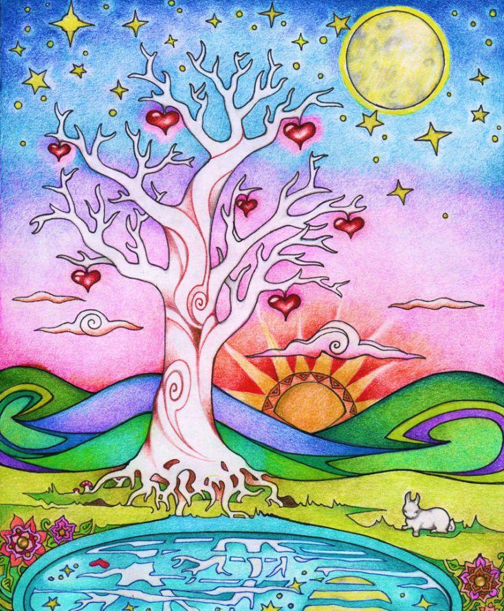 Необходимая сущность искусства - любовь.  Истинный художник - священный исполнитель.