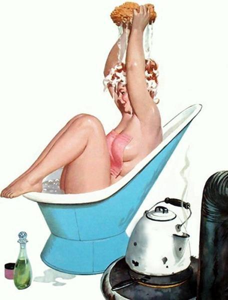 Пышка в ванне фото 741-336