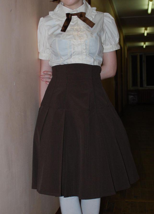 Советские Одежды Фото С Высокои Талии Юбки