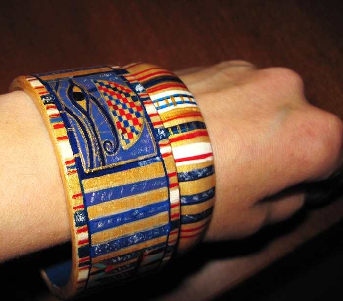Браслет на руку фараона своими руками