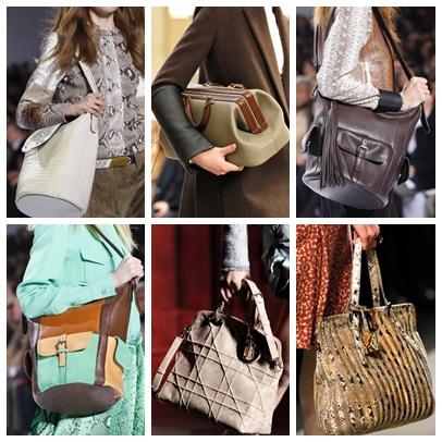 выборе нужной сумки. сумка 2012 - большая... становится размер и форма и...