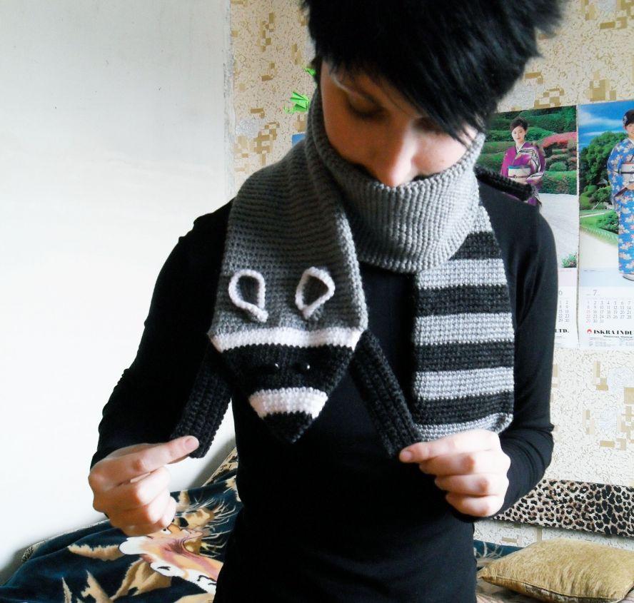 Еното-шарф — ⌒(o^▽^o)ノ
