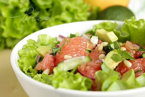 Фото диетического салата