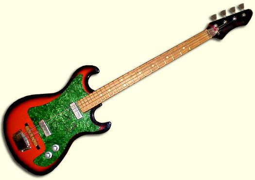 Бас гитары фото урал