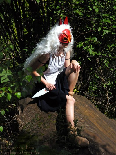 Princess mononoke san mask