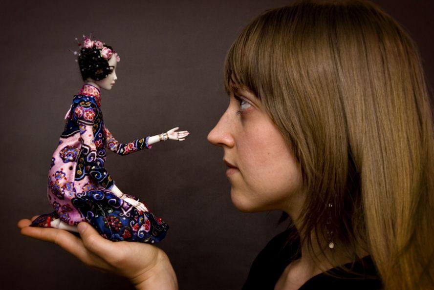 Фарфоровые куклы Марины Бычковой 72762431