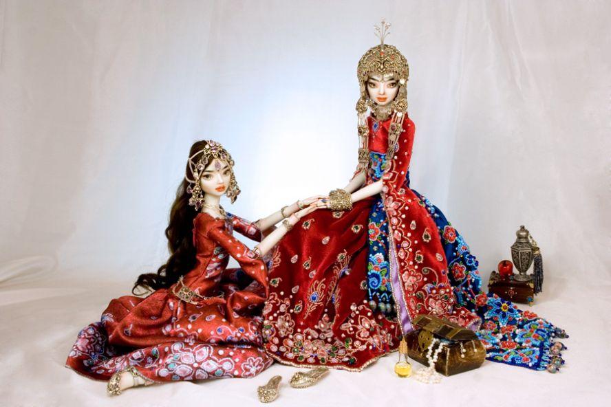 Фарфоровые куклы Марины Бычковой 72762447