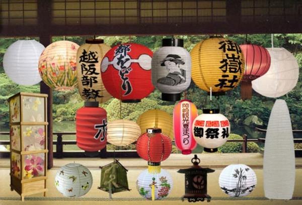 Бумажные японские фонарики своими руками
