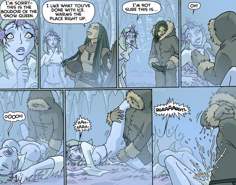 порно комикс ледяная малышка