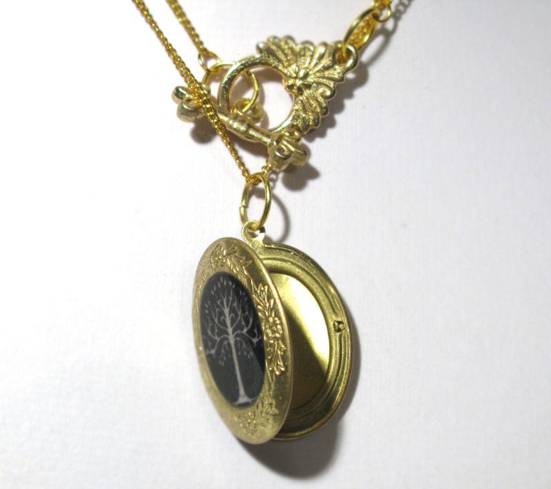открывающийся медальон кулон фотографией