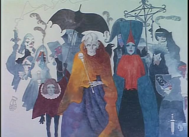 Kanashimi no Belladonna (1973) — Visual Channel