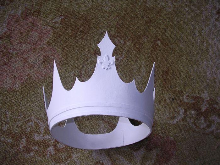 Как сделать корону из картона своими руками