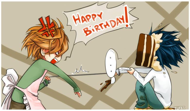 Поздравления с днем рождения сестренке в аниме