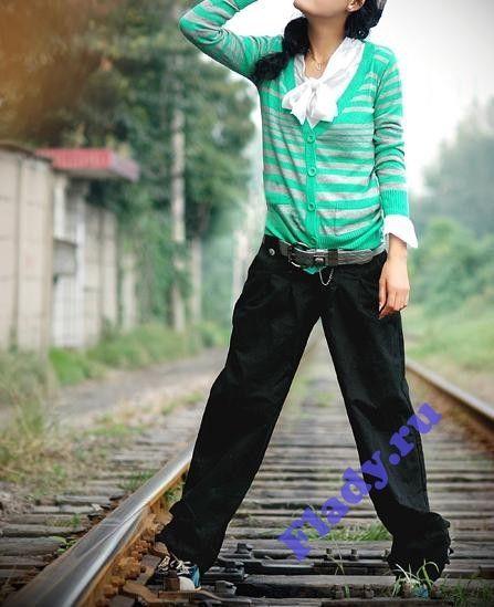 JJ-15151 Брюки черные - glam-girls.ru Интернет-магазин женской одежды.
