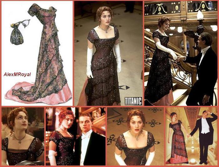 Платье роуз титаник