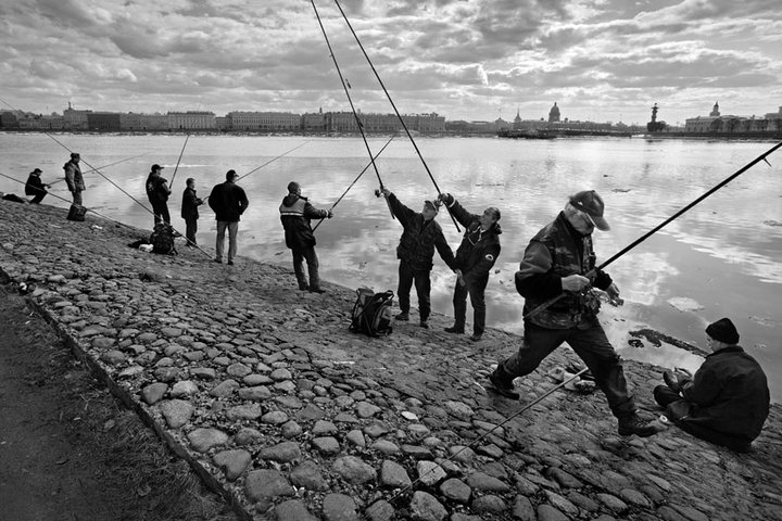 рыбалка в санкт-петербурге и в области