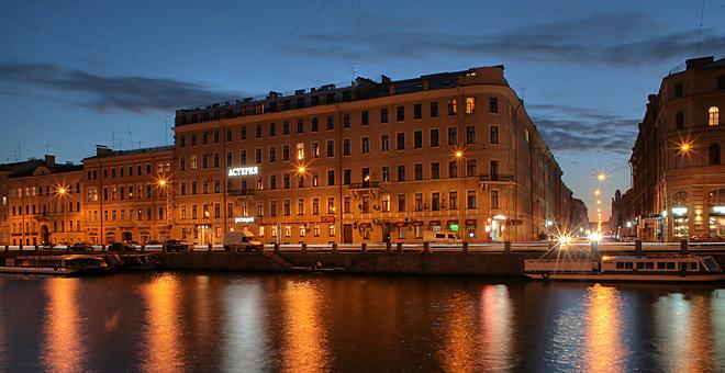 Россия, Санкт-Петербург, Астерия (Asteriya) отель Asteriya.