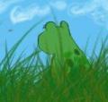 Lazy_frog