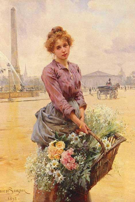 Продавец цветов картинки 1