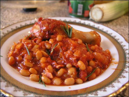 рецепты фасоль в томате