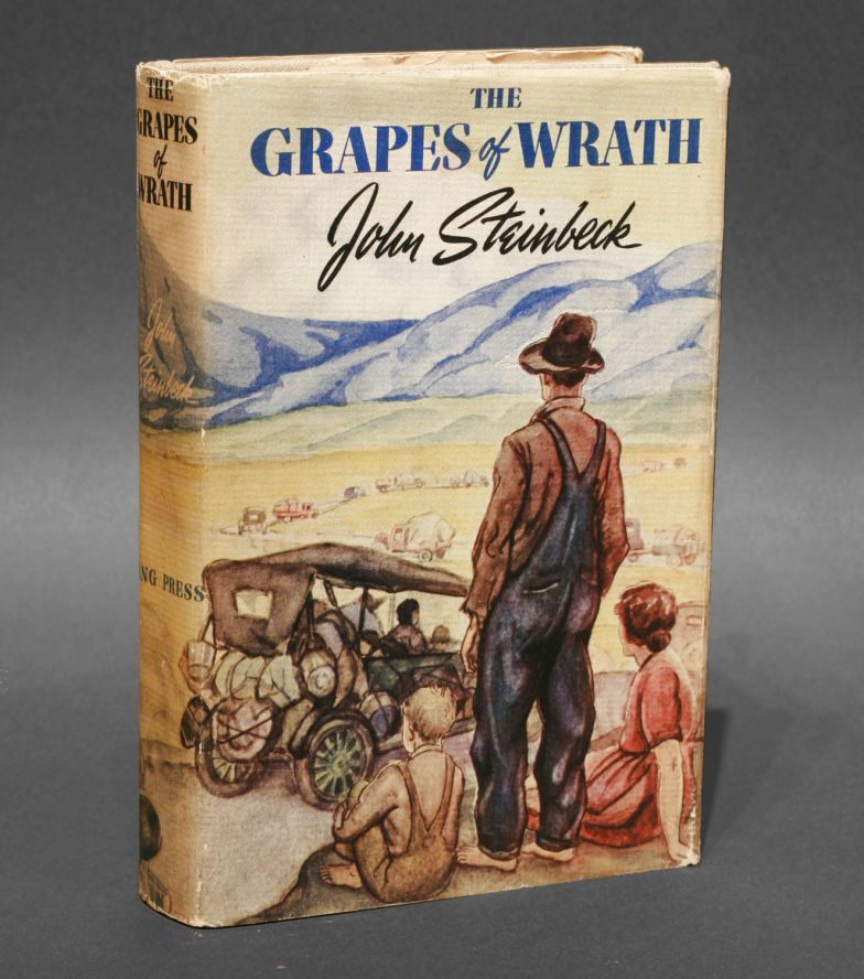 an overview of the people and the great depression in the novel the grapes of wrath by john steinbec The great john steinbeck is best known for his works set during the great depression, particularly those that focused on migrant workers the grapes of wrath, a winner of the national book award and pulitzer prize, and of mice and men are two of his well-known works that are set during this highly stressful period.