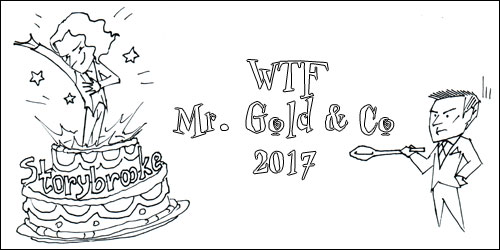 Баннер WTF Mr. Gold & Co 2017